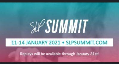 Winter Session of SLP Summit